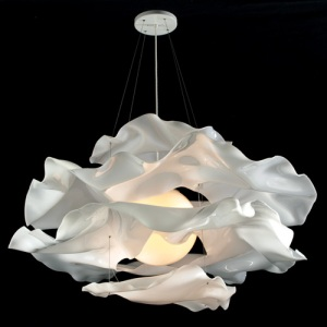 Acrylic cloud ceiling light by Adam Jackson Pollock at YLighting